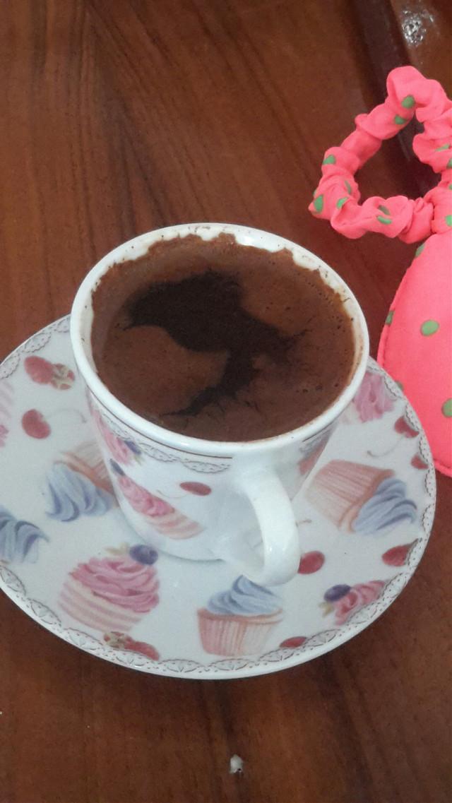 Sanki kuş var gibi  #Coffee #bird