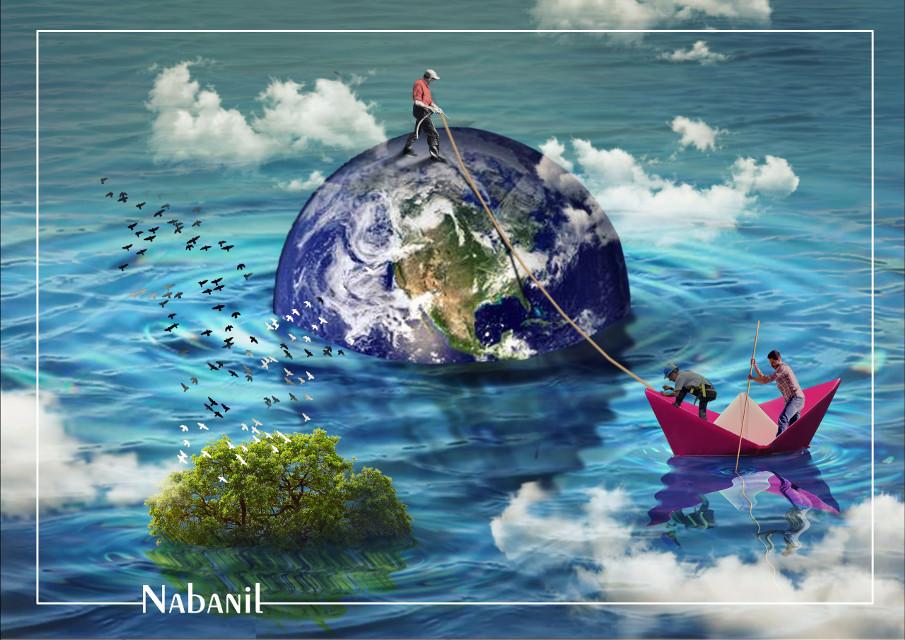 #creative #world #Tree #artist #save #art #color #painting #digital