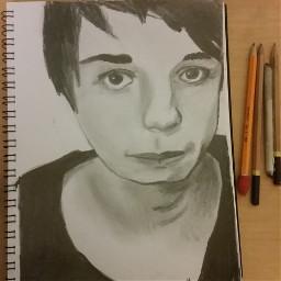 drawing pencilart danisnotonfire