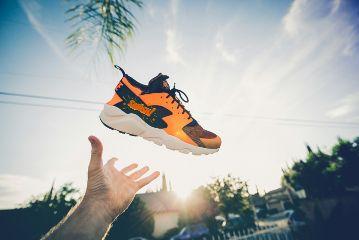 freetoedit orange shoes sky up