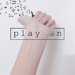 FreeToEdit hand music vsco