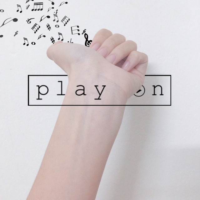 #FreeToEdit #hand #music #vsco