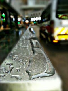 simple photography rainyday lights street