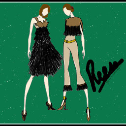 my sketch drawing dresses design