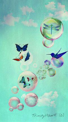 wapoutofframe bubbles nature soulart freetoedit