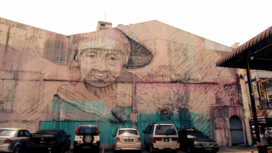 #streetart  #penang  #georgetown