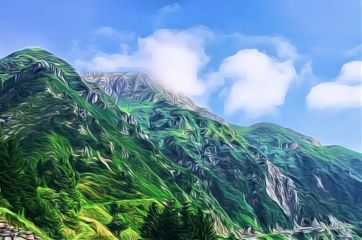 italy italia mountain nature landscape